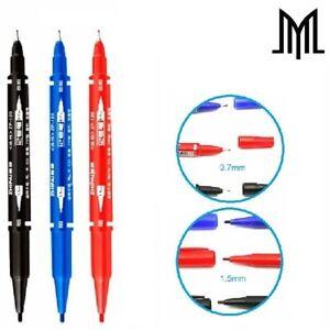Microblading Skin Marker Pen - SPMU Permanent Makeup Outliner - Double Ended