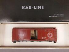 HO SCALE KAR-LINE DT&I 40' BOX CAR KIT