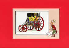 CHEQUE TINTIN - VOIR ET SAVOIR -  HERGE - AUTOMOBILE / CAR  - SEE AND KNOW - N°8