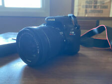Canon Eos Rebel Sl1 18.0Mp Digital Slr Camera - Black (Kit with 18-55mm Stm.