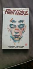Fight Club 2 (2016) Hardcover signed David Mack & Chuck Palahniuk autographed