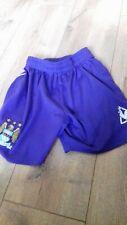 Manchester City Man City football shorts size 26 cm waist Purple Le coq sportiq*