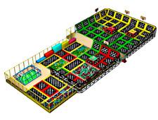 15,000 sqft Commercial Trampoline Park Turnkey Dodgeball Climb Ninja We Finance