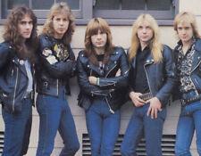 Iron Maiden UNSIGNED photo - K8274 - Bruce Dickinson and Steve Harris