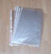 20 Stück gebrauchte Klarsichthüllen DIN A 4 zum abheften, NEU,