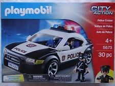 "Playmobil 5673 City Action ""Polizei Auto"" ~ Police Cruiser ~ USA ~ Neu und OVP"