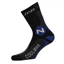 Chaussettes cyclisme NALINI Podagria XXL noire/bleu