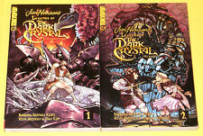 LEGENDS OF THE DARK CRYSTAL VOLUME 1 & 2 ~ Complete Set ~ Tokyopop Henson Legend