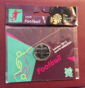Original Packed Football 50 Pence,tare To The Pack See Pics.