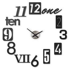 Umbra Numbra reloj de pared - negro