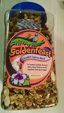 4 lbs Goldenfeast Hookbill Legume Bird Food 64 oz Amazon Grey Conure Pionus LB