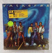 Jacksons Victory QE 38946 Gatefold Shrink Hype Liner Notes Insert 1984 NM VINYL