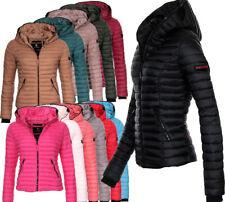 Navahoo Damen Herbst Winter Jacke Übergangsjacke Steppjacke Kimuk kapuze NEU