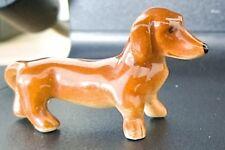 Goebel Hummel Miniature dog ( dachshund porcelain  ) 1950 - 1955 collection