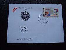 AUTRICHE - enveloppe 1er jour 21/2/1997 (B7) austria
