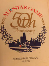 1983 Chicago Sox All Star Game 50th Anniversary Program
