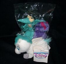 3 DISNEY STORE HERCULES PEGASUS PAIN & PANIC BEAN BAG STUFFED ANIMAL PLUSH TOY