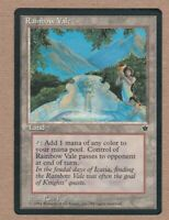 MTG - Rainbow Vale - Fallen Empires - Rare Played/Fine - Single Card