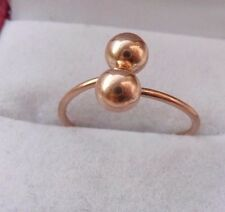 Vintage Soviet Russian 583,14k Solid  Gold Ring Poceluichik (Kiss) Size 5,5-9