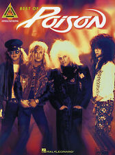 Poison Best Of Sheet Music Song Book Guitar TAB ROCK LIFE GOES ON FALLEN ANGEL