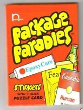 (1) 2000 Wacky Packages Parodies 1st Series 1 Factory Sealed Unopened Pack