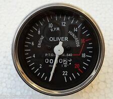 "Oliver Tractor Super Late Super 55 , 550 Gas / Diesel Tachometer 3.3"" / 85mm"