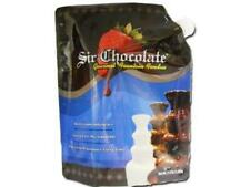 Sir Chocolate Fondue READY TO USE Semi 7.5lbs for Home & Commercial Fountains