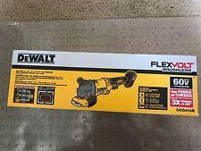 "Dewalt DCG414 b 60V MAX CORDLESS 4-1/2"" 6"" FLEXVOLT GRINDER  CORDLESS 60 VOLT"