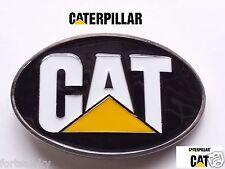 Classic CAT CATERPILLAR Belt Buckle Farming Construction Gold Rush