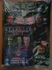 DVD COLLECTION STARGATE SG 1 PART 57 + MAGAZINE - NEW SEALED IN ORIGINAL WRAPPER
