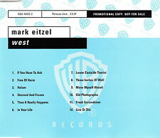 Mark Eitzel CD West - Promo - Germany (M/M)
