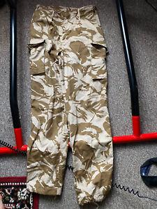 British Army Desert DPM Camo Combat Trousers Genuine Military Surplus 85 88 104