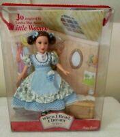 "LITTLE WOMEN JO Doll ""When I Read I Dream Series"" Timeless Treasures Mattel 2001"