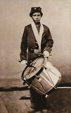 """ Drummer Jackson ""  US Colored Troops African American Black Civil War Postcard"