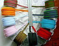 Grosgrain Ribbon Picot Edge 10mmWide 3 MetLengths 10 Colour Choice May Arts AL11