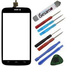 Wiko Darkside Touchscreen Glas Display Digitizer Schwarz + Werkzeugset