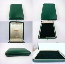 Eberhard pocket watch box astuccio etui ecrin uhrenbox vintage NOS (lot 109)