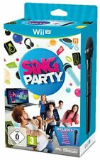Sing Party + Microfono WIIU - totalmente in italiano