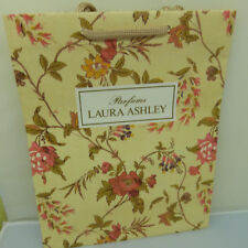 AUTHENTIC LAURA ASHLEY PERFUMES GIFT PAPER BAG (1983) (10 x 8 inches)