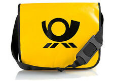 Deutsche Post Umhängetasche gelb Notebooktasche Post-Bag Schultertasche DPAG NEU