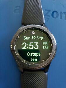 Used Samsung gear S3 Frontier Black