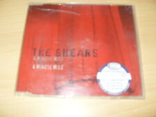 THE GHEARS - 4 MINUTE MILE  2 TRACK CD SINGLE IZCD 002