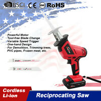 20V 18V cordless reciprocating saw sabre jigsaw battery charger Electric cutting