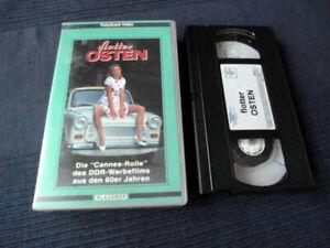 VHS Flotter Osten Die Cannes-Rolle des DDR-Werbefilms aus 60er Jahren REKLAME