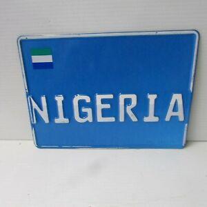 Nigeria, West Africa Diplomatic Vehicle License Plate - Sierra Leone