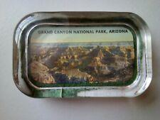 "Vintage 4"" x 2.5"" Glass Block Paperweight Grand Canyon National Park, Arizona"