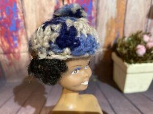 Vintage Barbie / Ken Knit Winter Hat . Hat Only. Pre-owned ⭐️1960s Era