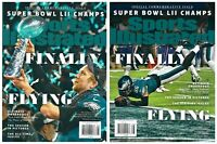 2018 Sports Illustrated Philadelphia Eagles Super Bowl LII Commemorative Set