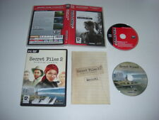 SECRET FILES 1 & 2 Pc DVD Rom 2 games Tunguska + Puritas Cordis - FAST POST