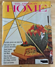 The American Home 1964 Colonial Home Abode Hacienda Ranch House Color Fruit
